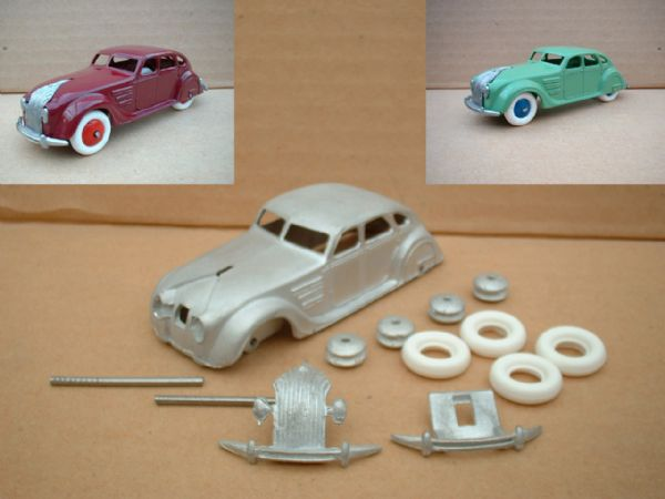 A DINKY TOYS COPY MODEL 30A CHRYSLER AIRFLOW [ IN KIT FORM ]